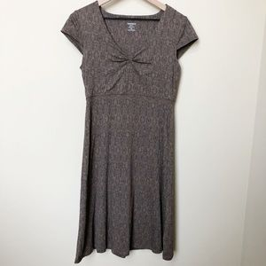 Toad&Co Short Sleeved V-Neck Dress